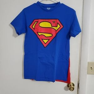 Superman shirt with cape